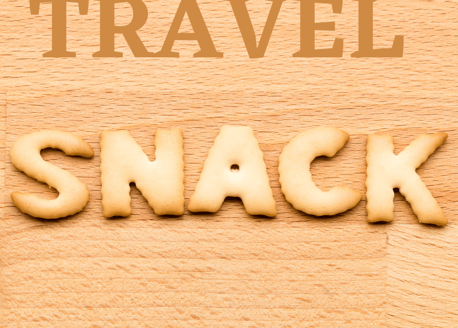Your favourite travel snacks
